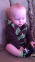 my little nephew is getting so big!