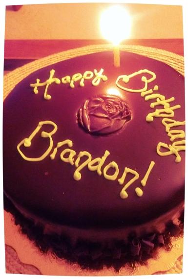 celebrated somebody's birthday