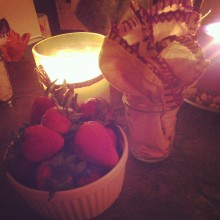 prepared a surprise birthday breakfast