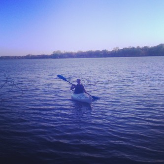 If it's summer and you can't find me... I'm kayaking. | Rachel Running Wild blog