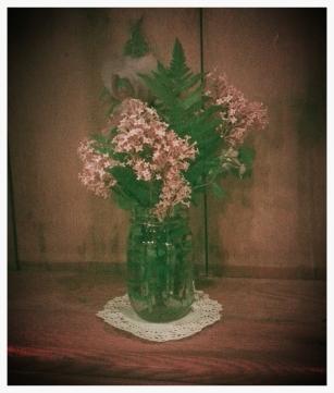 beautiful wedding lilacs