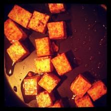 working on my tofu marinade recipe