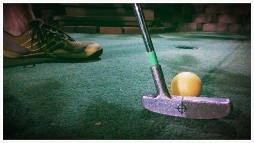 Kicked off date night with 36 holes of mini golf!