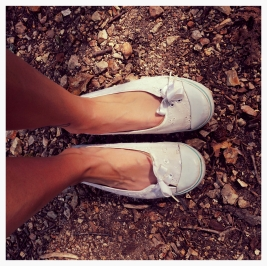 point me down a wooded trail and I won't care what shoes I'm wearing. | Rachel Running Wild blog