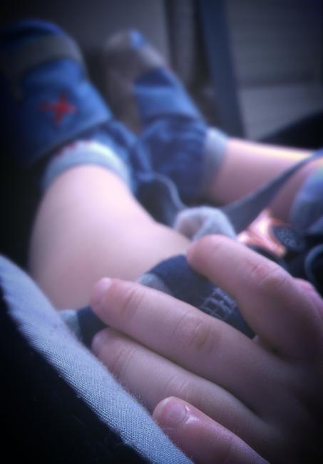 baby fingers... my sweet little nephew