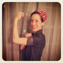 Happy Halloween! -love, Rosie the Riveter