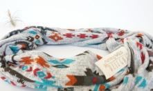 aztec infinity scarf by Running Wild Designs