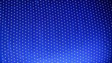 organic fabric, blue polka dot