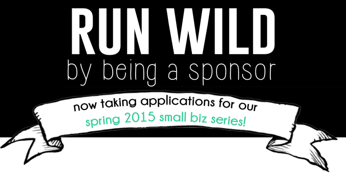 advertise with the Rachel Running Wild blog!