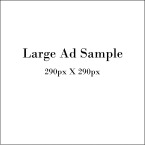 large ad sample