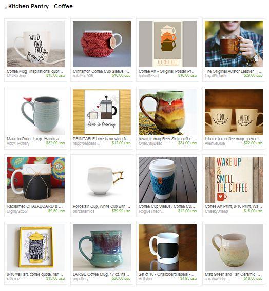 tuesday treasures - kitchen pantry coffee