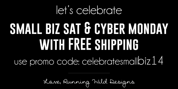 Small Business Saturday and Cyber Monday Deal