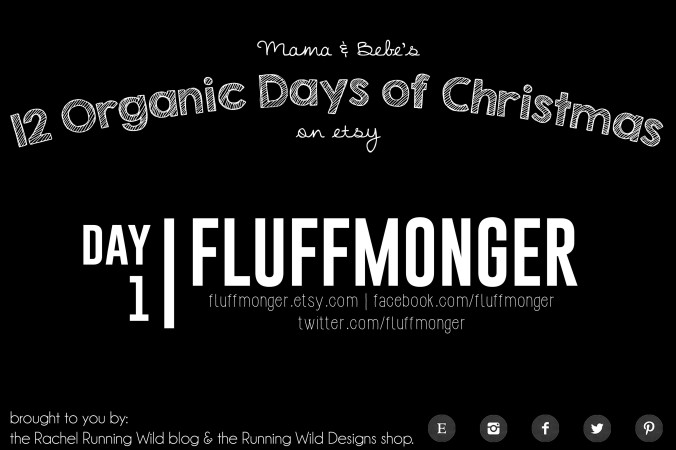 Etsy 12 Organic Days of Christmas for Mama & Bebe