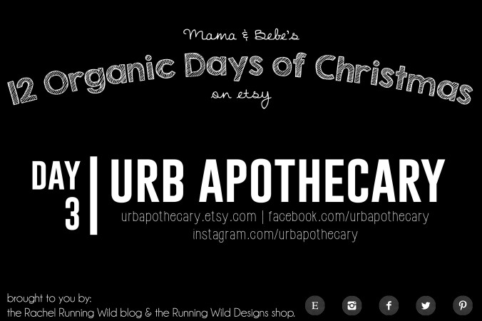 Etsy 12 Organic Days of Christmas for Mama & Bebe | URB Apothecary
