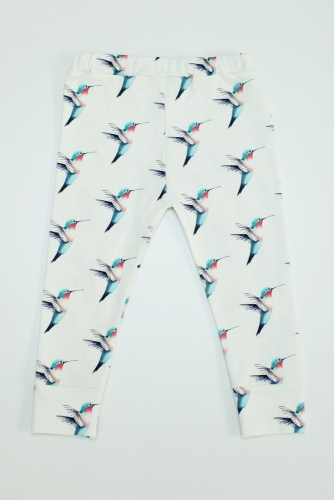 Etsy 12 Organic Days of Christmas for Mama & Baby | Our Little Lullaby, Hummingbird Leggings