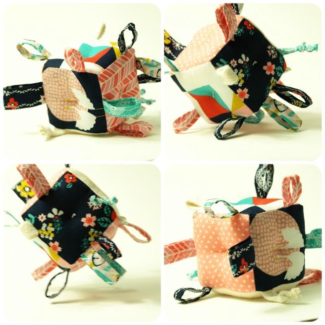 shop Bird + Elephant on etsy!   Sensory Toys: Organic Block Blossoms