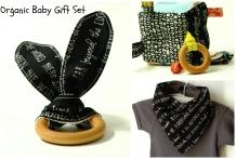 shop Bird + Elephant on etsy! | Sensory Toys: Organic Black and White Storytime Gift Set