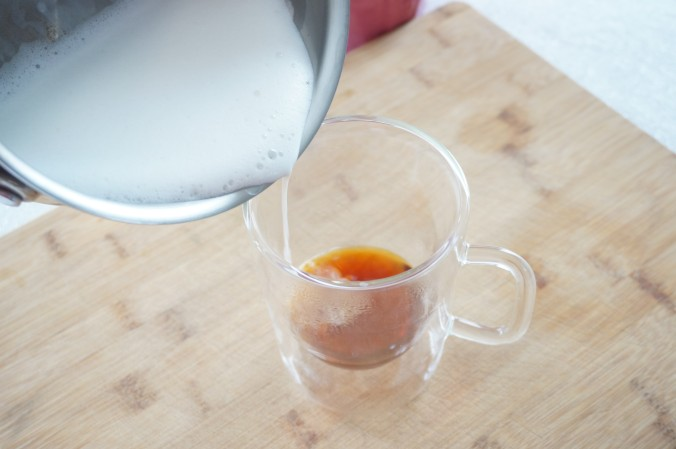 recipe: how to make a cafe-style London Fog | by the Rachel Running Wild blog | rachelrunningwild.me
